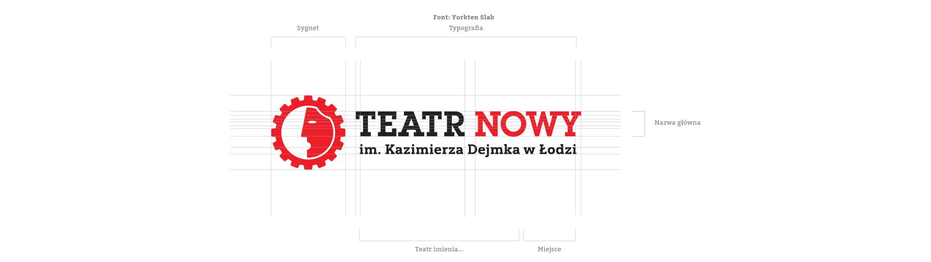 Logo Teatr Nowy im. Kazimierza Dejmka w Łodzi